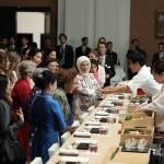 Fourth generation Sushi chef, Sushi ambassador  Yoshinori Tezuka (YOSHI) At the G20 Osaka Summit produces luncheon for the spouse program Introducing Japanese culture through Sushi